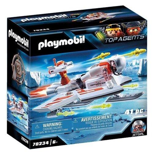 Купить Конструктор Playmobil Top Agents 70234 Летательный аппарат шпионской команды, Конструкторы