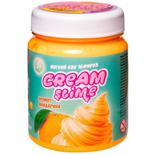 Жвачка для рук SLIME Cream аромат мандарина (SF02-K) оранжевый