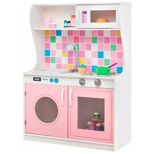 Кухня PAREMO Алвеоло Роуз Мини PK218-15 светло-розовый