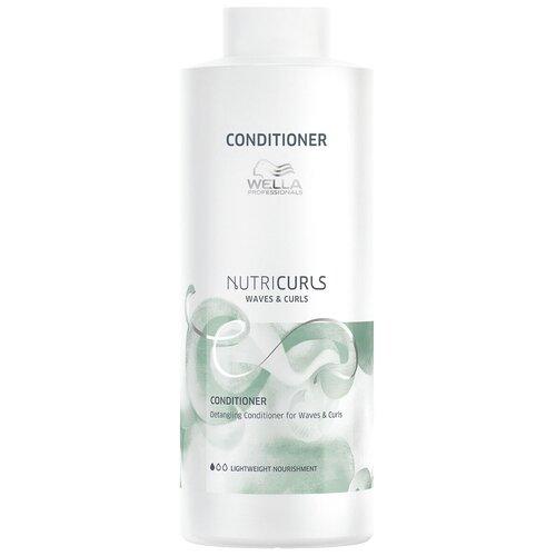 Фото - Wella Professionals бальзам NutriCurls Detangling Conditioner for Curls & Waves Облегчающий расчесывание кудрявых и вьющихся волос, 1000 мл wella nutricurls micellar shampoo for curls мицеллярный шампунь для кудрявых волос 1000 мл