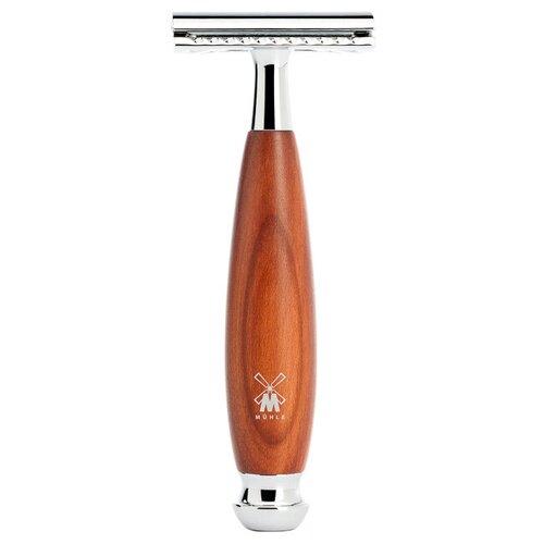Купить Т-образная бритва MUHLE Intro Vivo, слива, коричневый под дерево