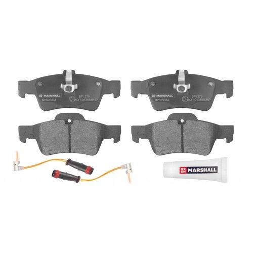 Дисковые тормозные колодки задние Marshall M2623334 для Mercedes-Benz E-class, Mercedes-Benz S-class (4 шт.)