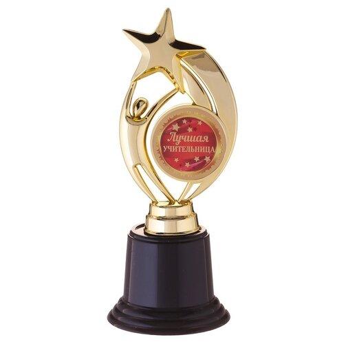 Фигура звезда на черн подставке Лучшая учительница, 7 х 18,2 см 1233411