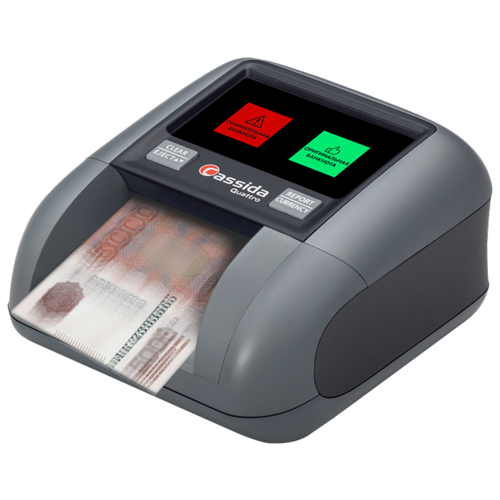 Автоматический детектор банкнот Cassida Quattro Z Антистокс
