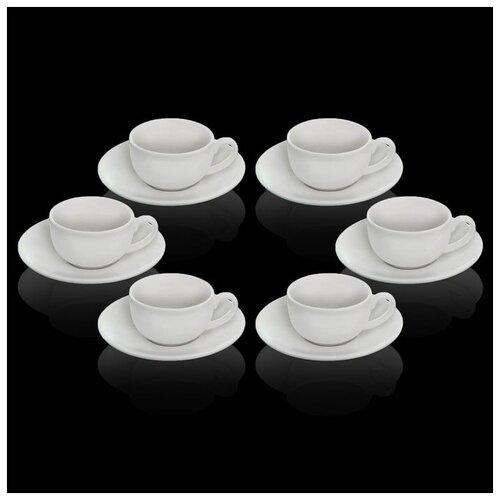 Сервиз кофейный 12 пред.: 6 чашек 100 мл, 6 блюдец, в цветной коробке WL-993002/6C 2047525