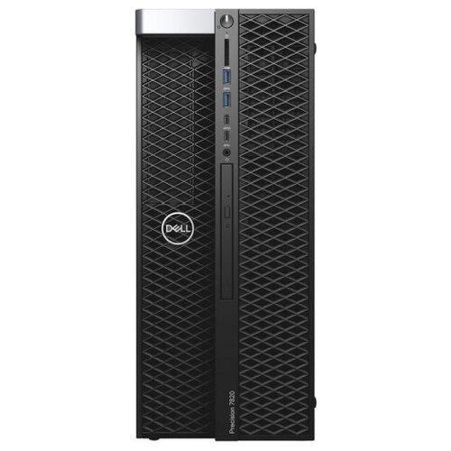DELL Precision T7820 MT (7820-5858) Intel Xeon Silver 4210R/32 ГБ/256 ГБ SSD+2 ТБ HDD/Windows 10 Pro, черный