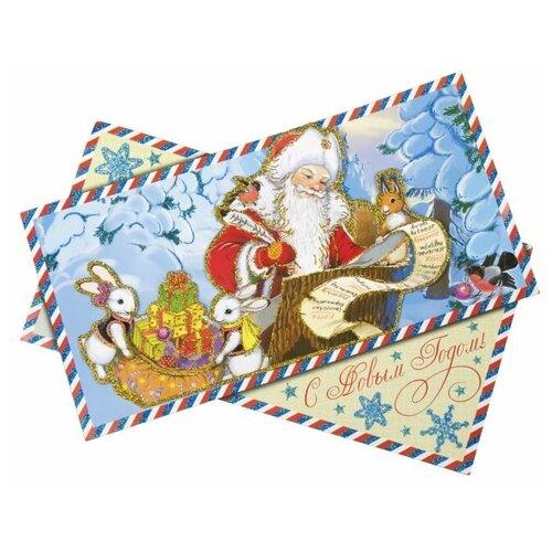 Фото - Наклейка Феникс Present Новогодняя почта 45 x 35 см наклейка феникс present морозный узор 54 x 21 см