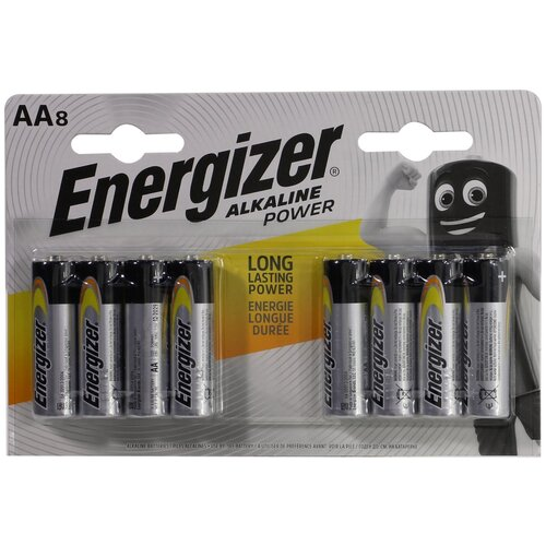 Фото - Energizer ALKALINE POWER AA/LR6 Батарейка POWER AA/LR6 батарейка aa щелочная perfeo lr6 10bl super alkaline 10 шт