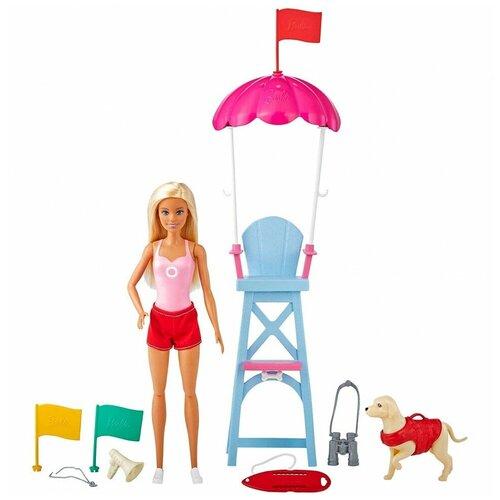 Игровой набор Barbie Пляжный спасатель, GTX69