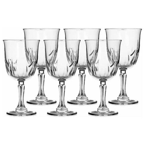 Pasabahce Набор бокалов для вина Karat 6 шт 335 мл прозрачный pasabahce набор бокалов tulipe 200 мл 6 шт прозрачный