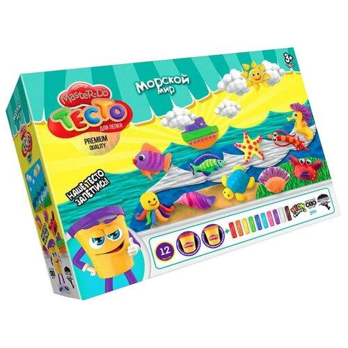 Купить Масса для лепки Danko Toys Master Do Морской мир 12 цветов (TMD-07-04), Пластилин и масса для лепки