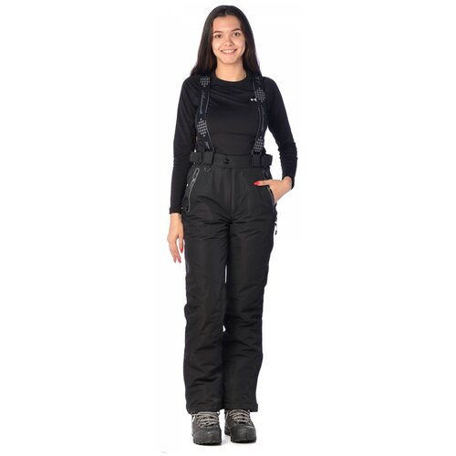 Горнолыжные брюки женские AZIMUTH 2077 (Черный/50)