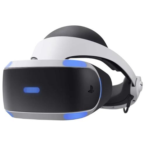 Шлем виртуальной реальности Sony PlayStation VR Mega Pack Bundle, черно-белый