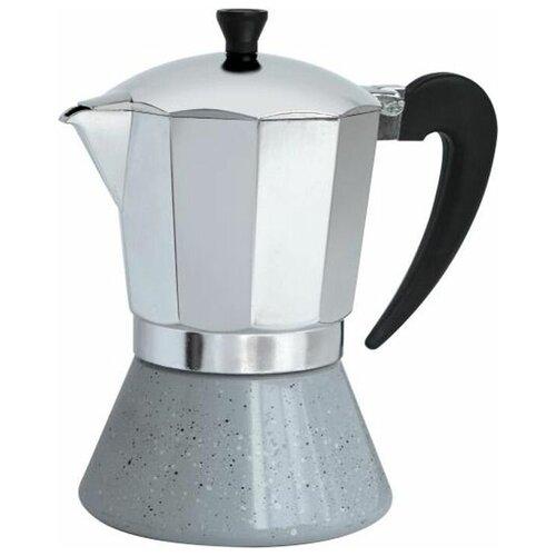 Гейзерная кофеварка Winner WR-4261 (400 мл), серебристый
