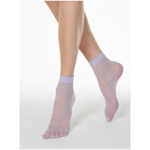 Капроновые носки Conte Elegant 16С-127СП, размер 23-25, violet