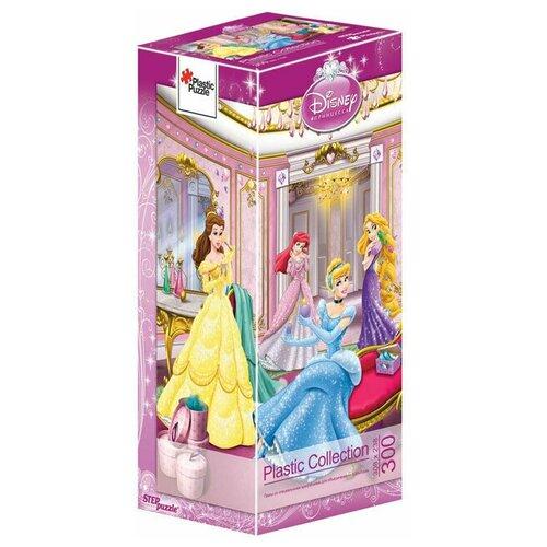 Пазл Step puzzle Plastic Collection Disney Принцессы (98032), 300 дет. пазл step puzzle plastic collection дракон и фея 98019 500 дет