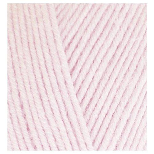 Купить Пряжа для вязания Ализе Baby Best (90% акрил, 10% бамбук) 5х100г/240м цв.184 розовая пудра, Alize