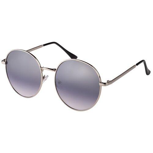 Солнцезащитные очки женские/Очки солнцезащитные женские/Солнечные очки женские/Очки солнечные женские/21kdgann901010c5vr Серебристый,Синий/Vittorio Richi/Круглые/Панто/модные