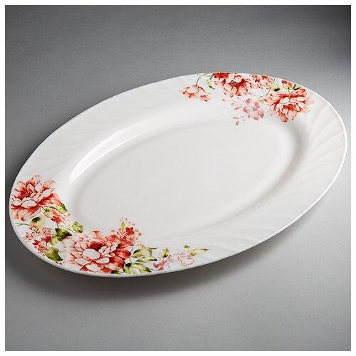 Фото - 0001L2/62-SK Блюдо овальное 30,5см Марселла  салатник teropal 0001d9 50 sk asti 21 5 см