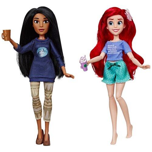Купить Набор кукол Hasbro Disney Princess Ральф против интернета Ариэль и Покахонтас, 28 см, E7413, Куклы и пупсы