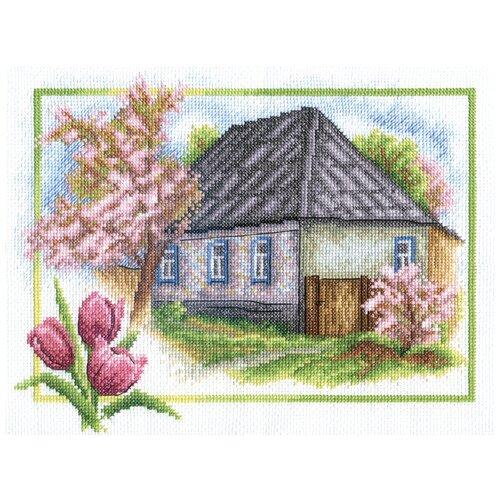 Купить Набор для вышивания PANNA Весна в деревне 26x20 см, Наборы для вышивания