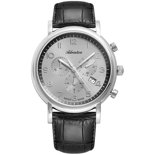 Фото - Часы наручные мужские Adriatica A8297.5227CH мужские часы adriatica a8279 r154q