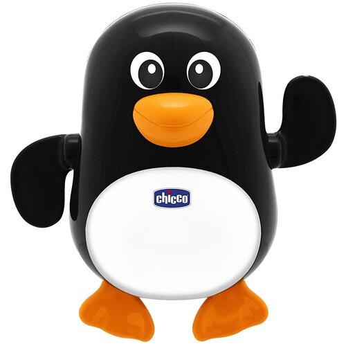 Купить Игрушка для ванной Chicco Пингвин (9603) черный/белый/оранжевый, Игрушки для ванной