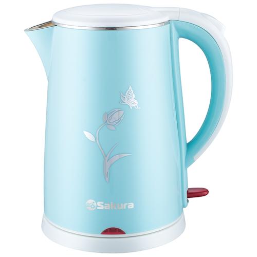 Фото - Чайник Sakura SA-2159WBL, голубой чайник sakura sa 2159wbl 1 8l