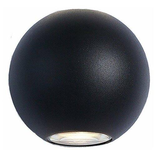 Elektrostandard Уличный настенный светильник 1566 Techno LED Diver черный бра elektrostandard 1585 techno led arkada черный