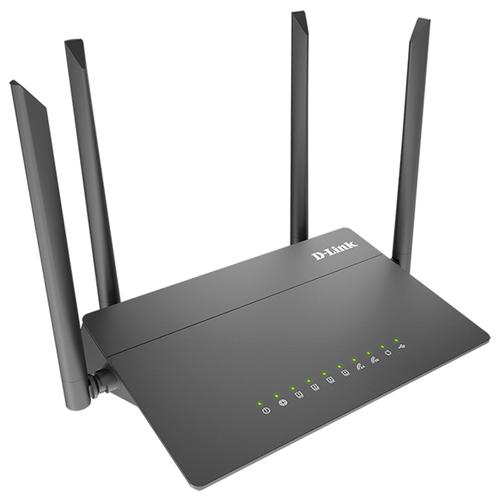 Wi-Fi роутер D-link DIR-815/R1 черный