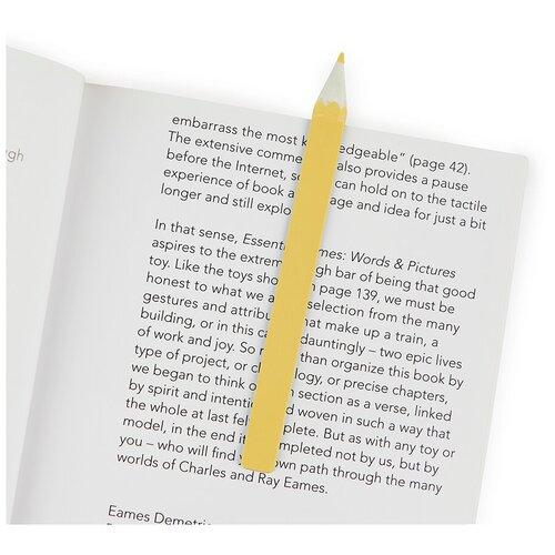 Купить Закладка для книг Balvi Graphite желтая 27482, Закладки