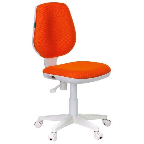 Компьютерное кресло Бюрократ CH-W213 детское, обивка: текстиль, цвет: оранжевый компьютерное кресло бюрократ ch 204nx детское детское обивка текстиль цвет синий карандаши