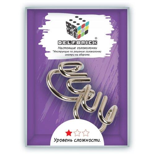 Головоломки металлические DELFBRICK DLM-01 Головоломка металлическая 1 шт