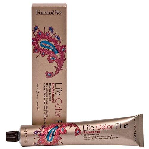 Купить FarmaVita Life Color Plus Крем-краска для волос, 5.77 средний интенсивный коричневый кашемир, 100 мл