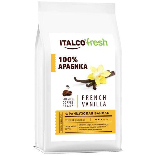 Фото - Кофе в зернах Italco Fresh French Vanilla ароматизированный, 375 г кофе в зернах italco fresh irish cream ирландский крем ароматизированный 375 г