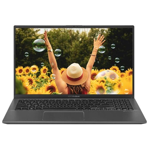 Ноутбук ASUS VivoBook 15 A512JF-BQ058T (Intel Core i5 1035G1/15.6/1920x1080/8GB/1TB HDD+128GB SSD/NVIDIA GeForce MX130 2GB/Windows 10 Home) 90NB0R93-M01330, серый ноутбук hp 15 da0135ur intel core i7 8550u 8gb 1000gb hdd 128gb ssd nvidia geforce mx130 15 6 1920x1080 windows 10 красный