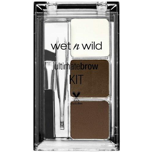 Wet n Wild Набор для бровей Ultimate Brow Kit soft brown
