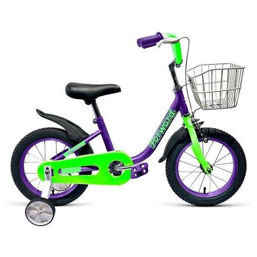 Фото - Детский велосипед FORWARD Barrio 16 (2021) фиолетовый (требует финальной сборки) детский велосипед forward barrio 18 2020 красный требует финальной сборки