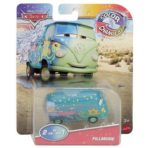 Машинка Mattel Cars Fillmore (GYM69) 1:55, синий mattel cars w1938 базовая машинка эрик лантели