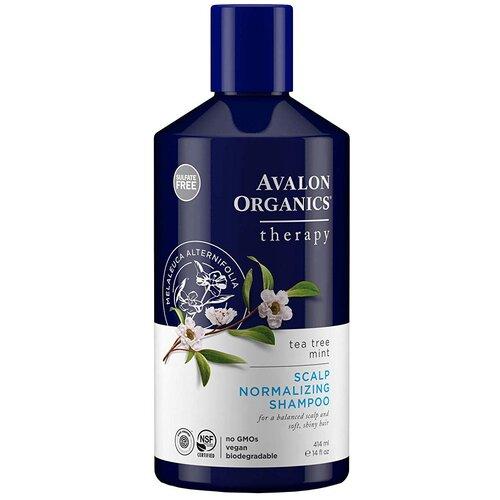 пальто avalon avalon mp002xw0dnxj Avalon Organics шампунь Scalp Normalizing Therapy Tea Tree Mint, 414 мл