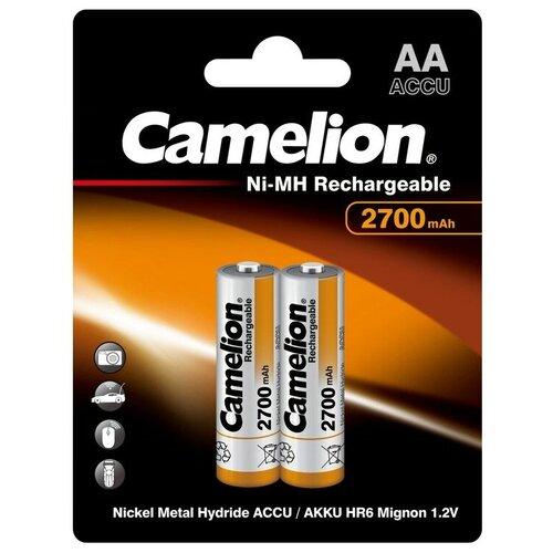 Фото - Аккумулятор Ni-Mh 2700 мА·ч Camelion NH-AA2700, 2 шт. аккумулятор ni mh 1000 ма·ч camelion nh aaa1100 2 шт