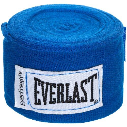 Кистевые бинты Everlast 4463 2,5 м синий