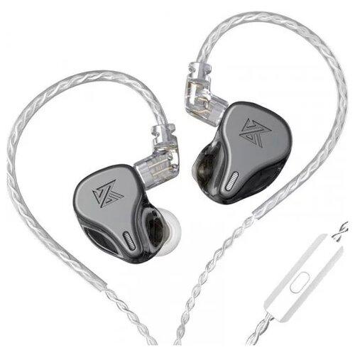 Наушники Knowledge Zenith DQ6 mic, серый