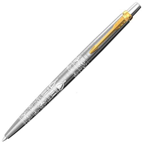 PARKER шариковая ручка Jotter Russia SE21, M, синий цвет чернил parker шариковая ручка jotter originals plastic k60 m 2076054 синий цвет чернил