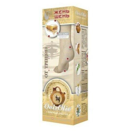Shuster Pharmaceutical Гель-бальзам для ног Овечье масло от трещин 70 г туба