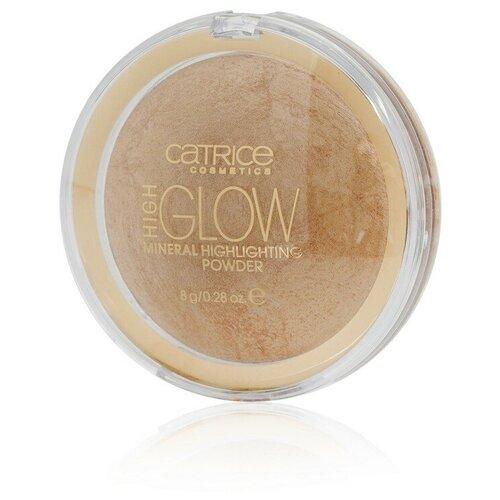 CATRICE Хайлайтер High Glow Mineral Highlighting Powder 030, amber crystal