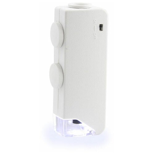 Микроскоп карманный Veber 160x-200х LED