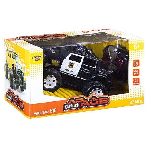 Фото - Радиоуправляемая машина YAKO Джип Safari Драйв. FullFunc (М81628) радиоуправляемые игрушки yako радиоуправляемый джип fullfunc