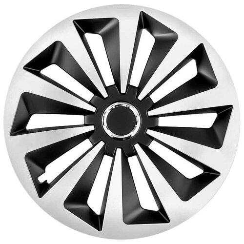 Колпаки на колеса JESTIC фокс ринг микс декоративные R15 15-077-RING-MIX-CZ