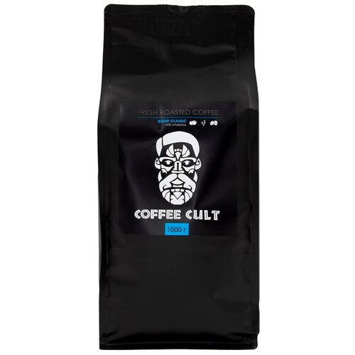 coffee 1889 premium blend 1 kg Кофе в зернах Coffee Cult Blend Classic, 1 кг
